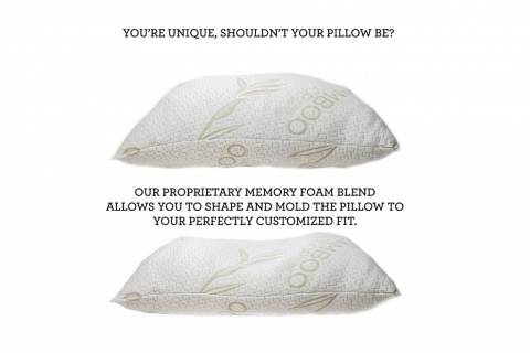 Adjustable Shredded Memory Foam Pillow by Coop Home Goods Picture