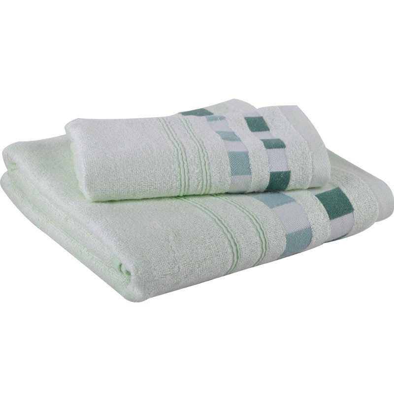 Bamboo fiber towel 2-piece set Picture