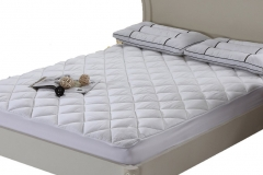Egyptian Bedding HARD-TO-FIND Five-Star Hotel LUXURIOUS Cool & Extra Plush 100% BAMBOO Fitted Mattress Topper Pad jpg5