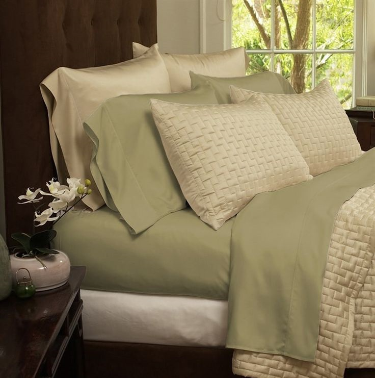 Natural Luxury Bamboo Bed Sheets Picture