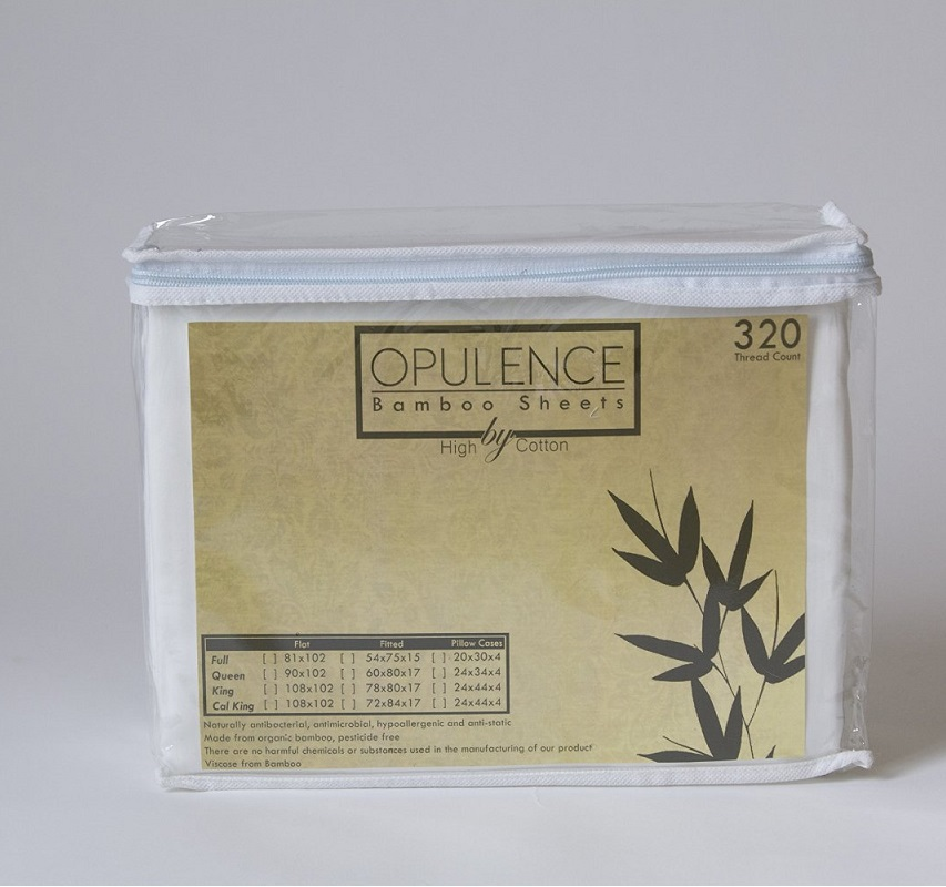 Opulence Bamboo Bed Sheet Set Picture
