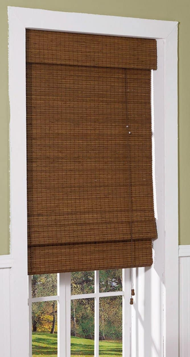 Radiance 0216200 Cape Cod Bamboo Roman Shade Picture