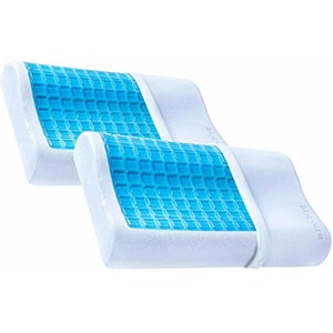 PharMeDoc Contour Cooling Gel Memory Foam Pillow Picture