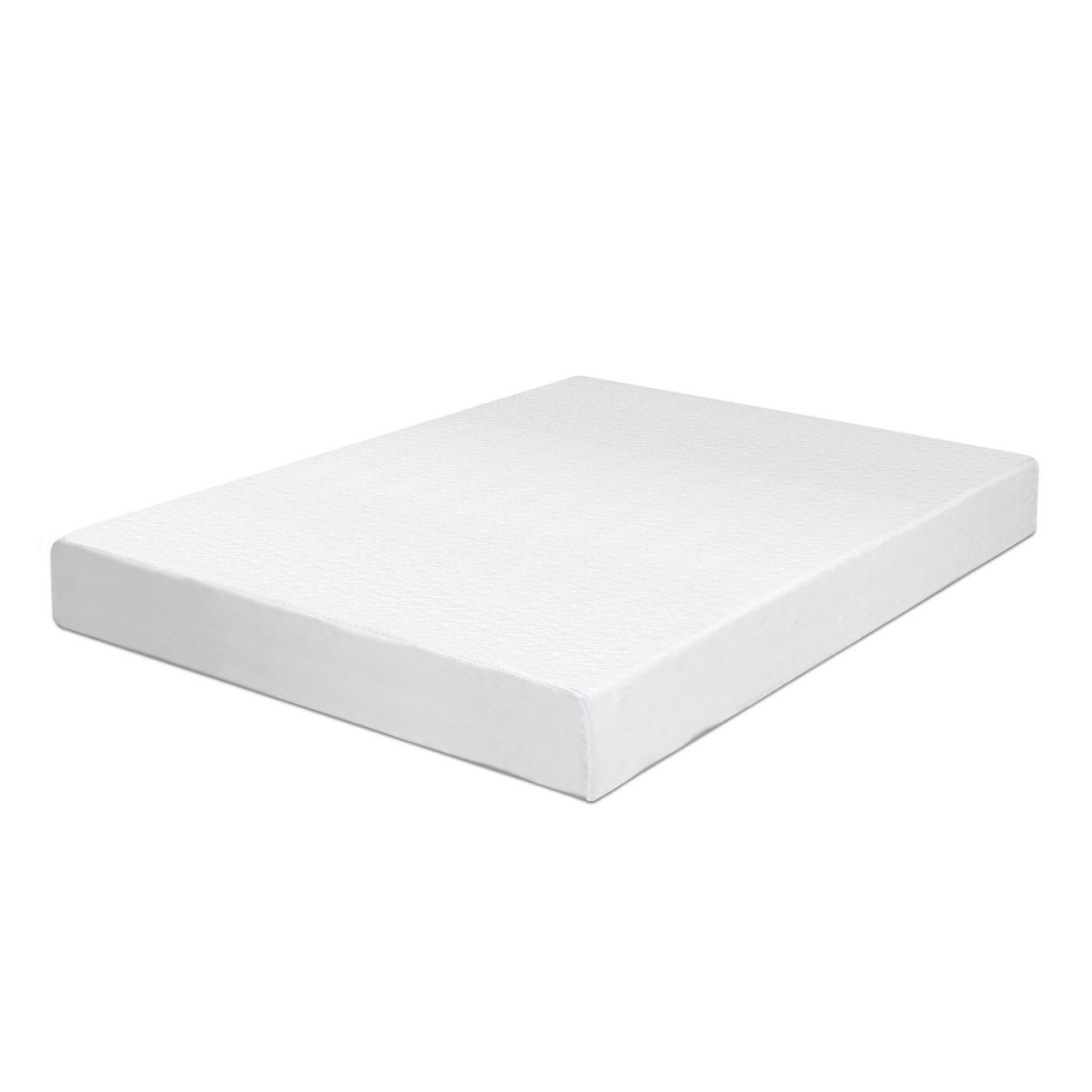 Swiss Ortho Sleep 6-Inch High-Density, 2 x Layered Memory Foam Mattress with Bamboo Cover Image