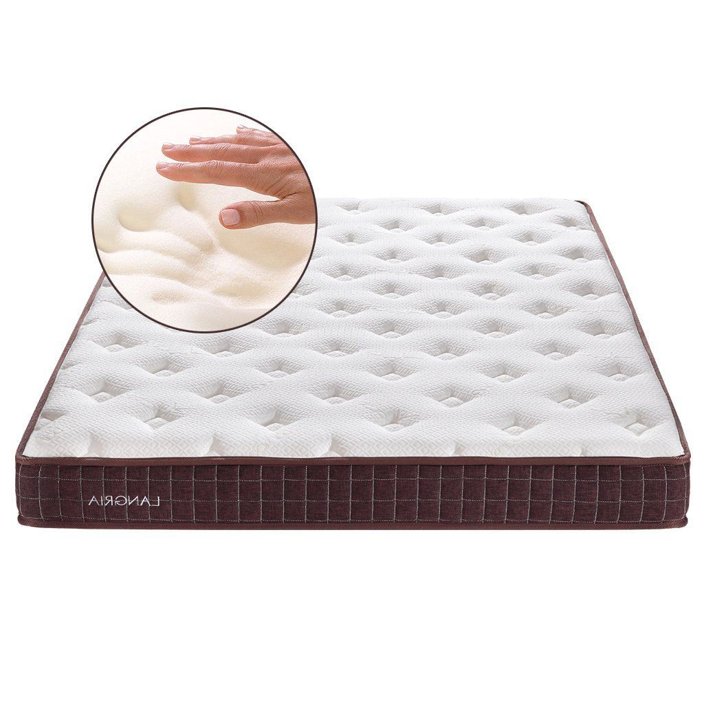Langria Essential 8-Inch Plush Memory Foam Mattress with Bamboo Cover Picture
