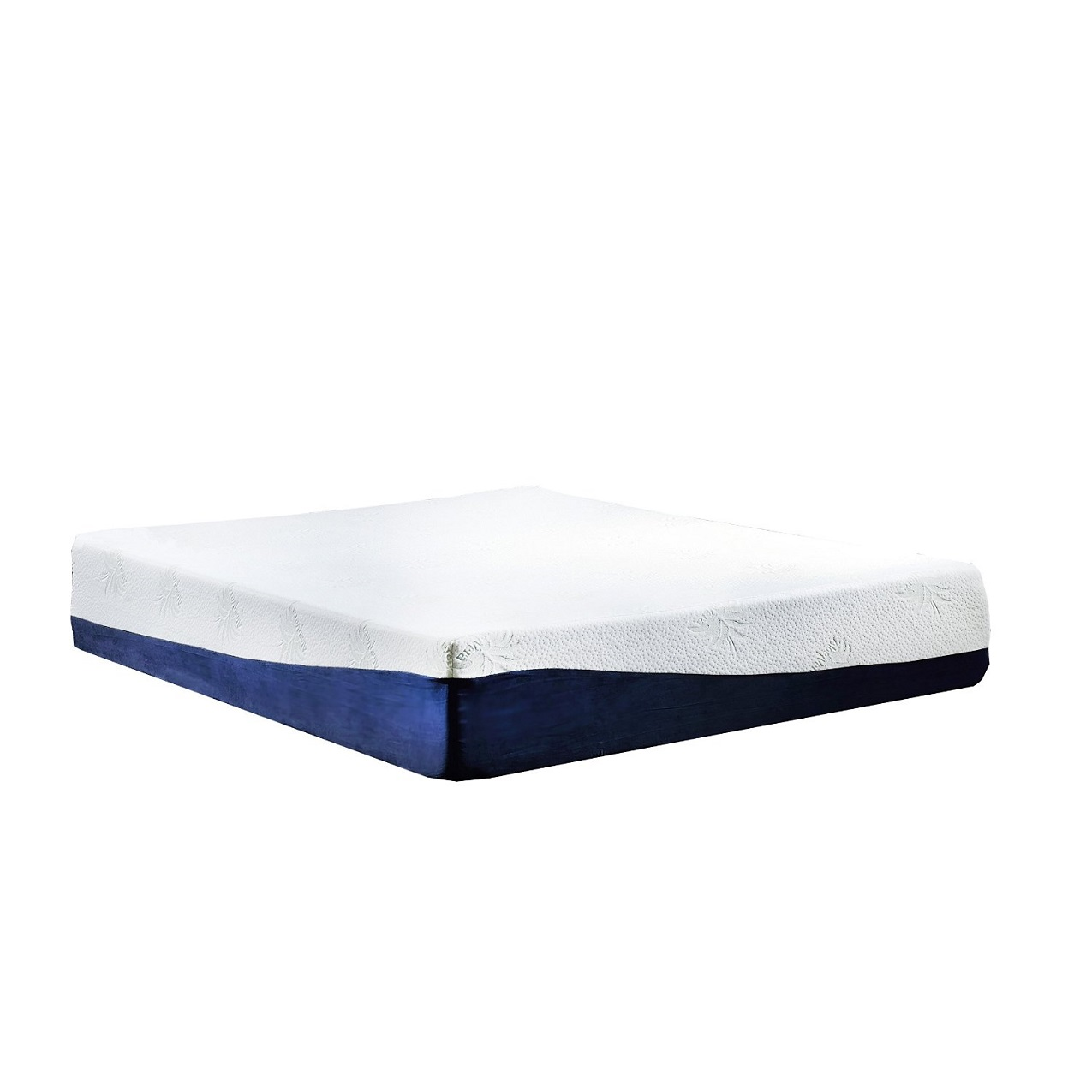 Swiss Ortho Sleep 13-Inch High-Density, 3 x Layered Gel & Memory Foam Mattress with Bamboo Cover Image