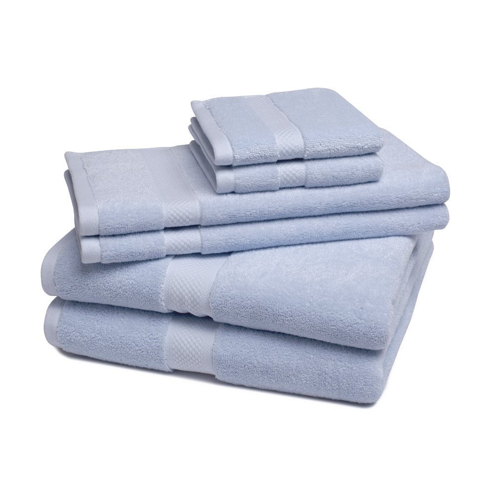 Ultra soft bamboo 6-piece towel set by ExceptionalSheets Picture