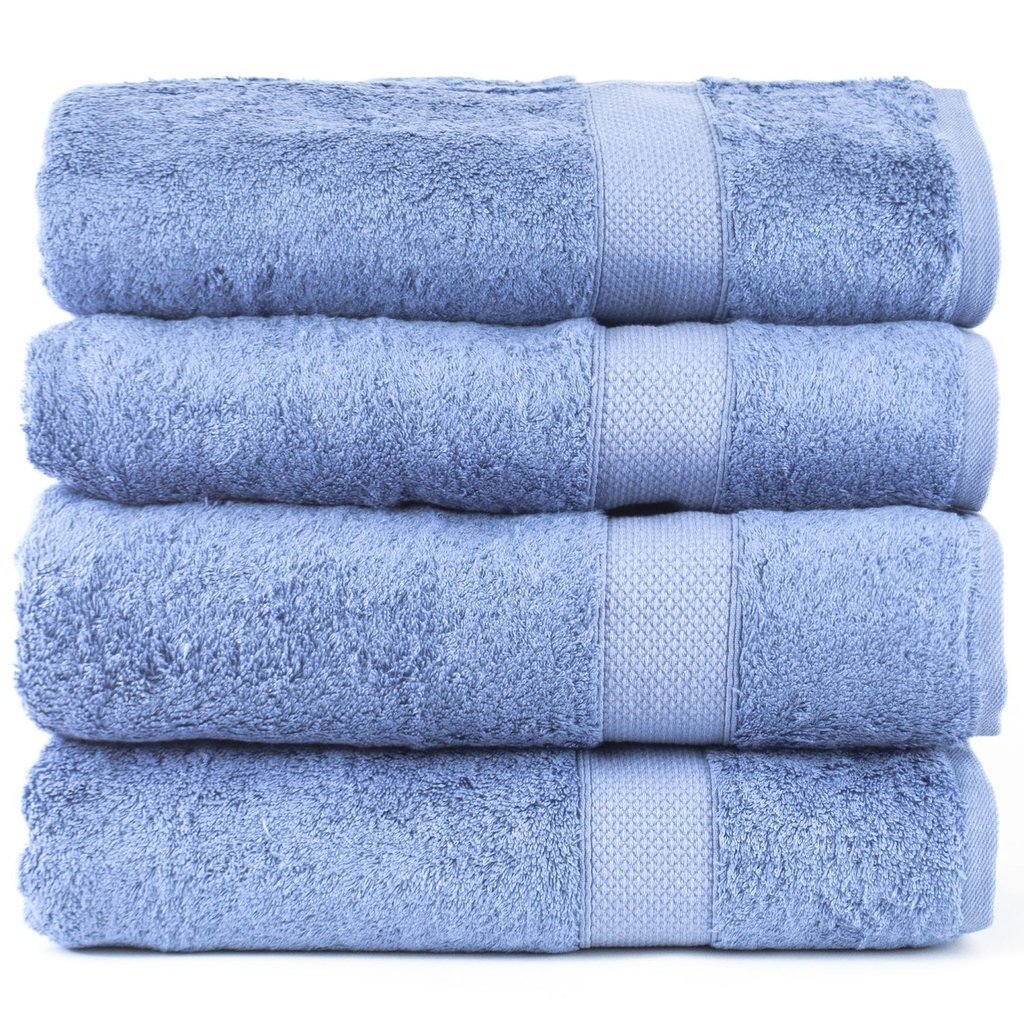 Luxury hotel&spa towel 100% genuine Turkish cotton bamboo-bath towel set of 4 Image