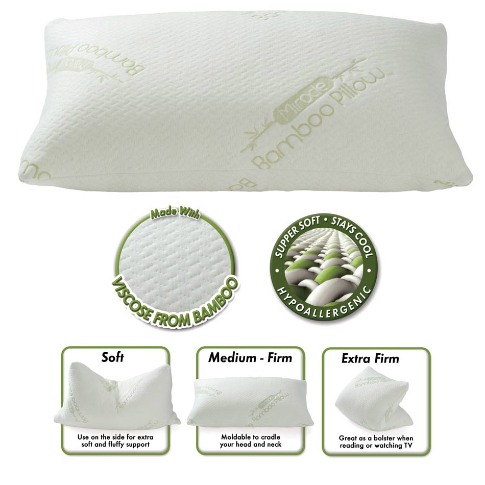 miracle bamboo pillow review 86965