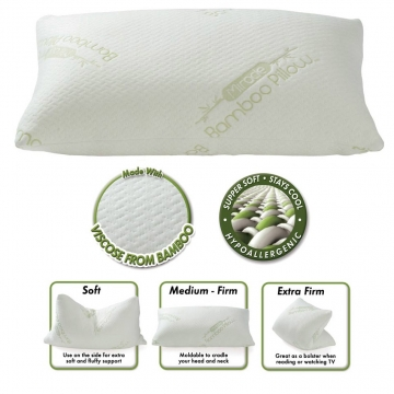 Miracle Bamboo Pillow Review Picture