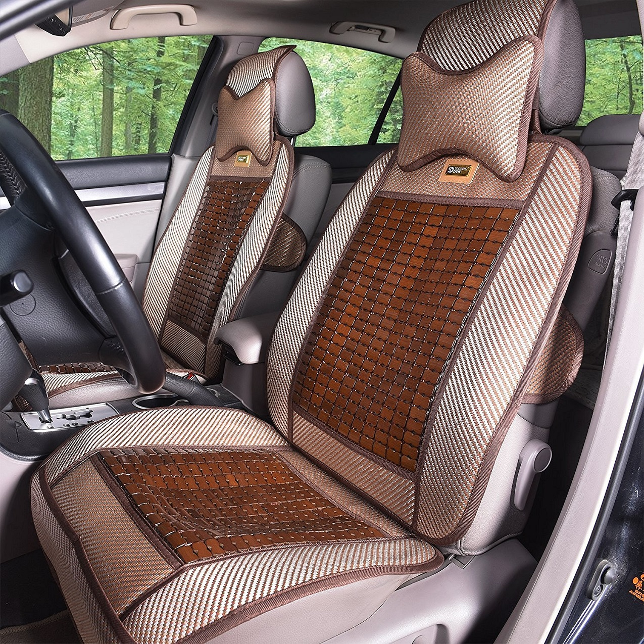 Qbedding Soothing Drive Cooling Series Universal Fit Automotive Seat Covers Image