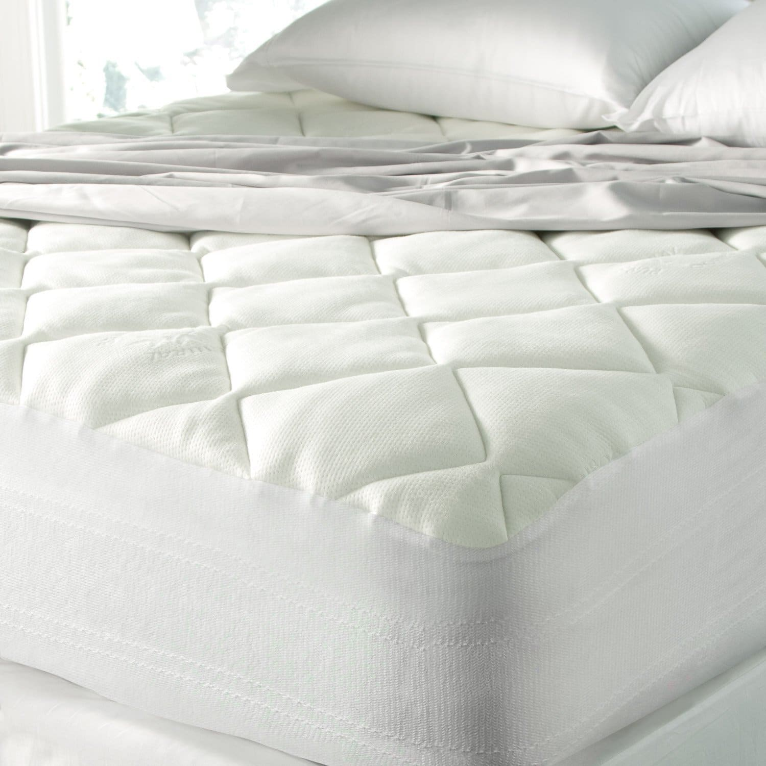 pad fresh bedroom mattress new of white and beautiful with design pillow top topper gel carpet
