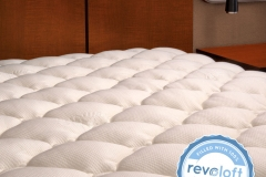Extra Plush Rayon from Bamboo Fitted Mattress Topper jpg4
