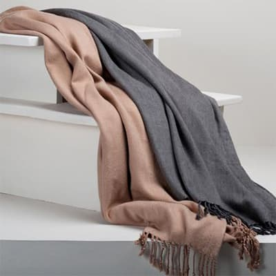 Berkshire Blanket cashmere bamboo Image