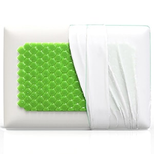 Equinox Cooling Gel Memory Foam Pillow Picture