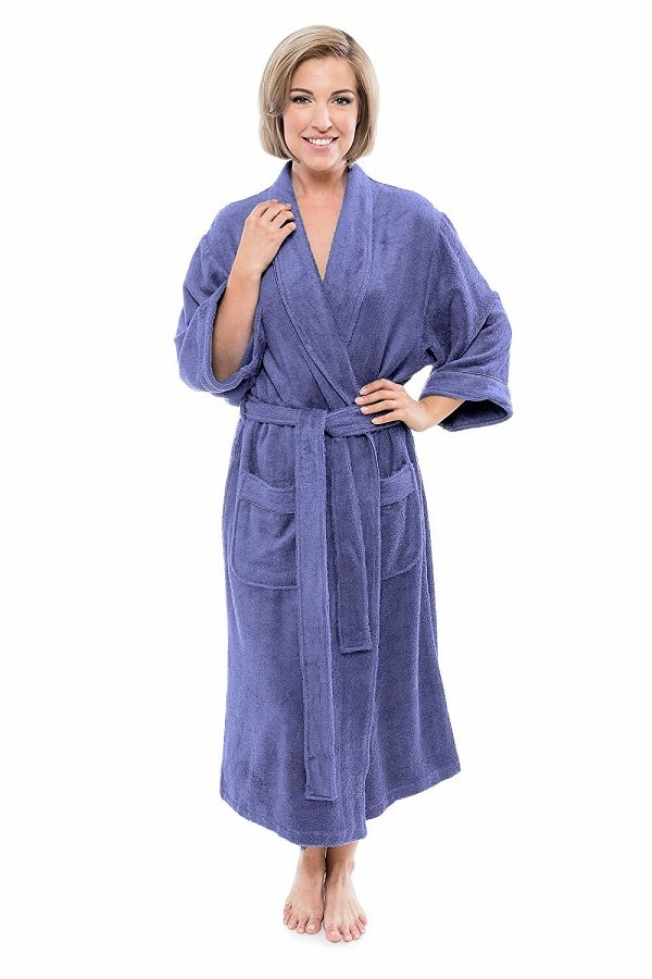 TexereSilk Women's Luxury Terry Cloth Bathrobe Picture